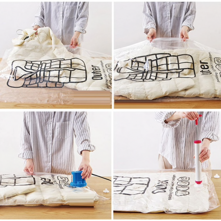Как хранить несезонную одежду: вакуумные пакеты