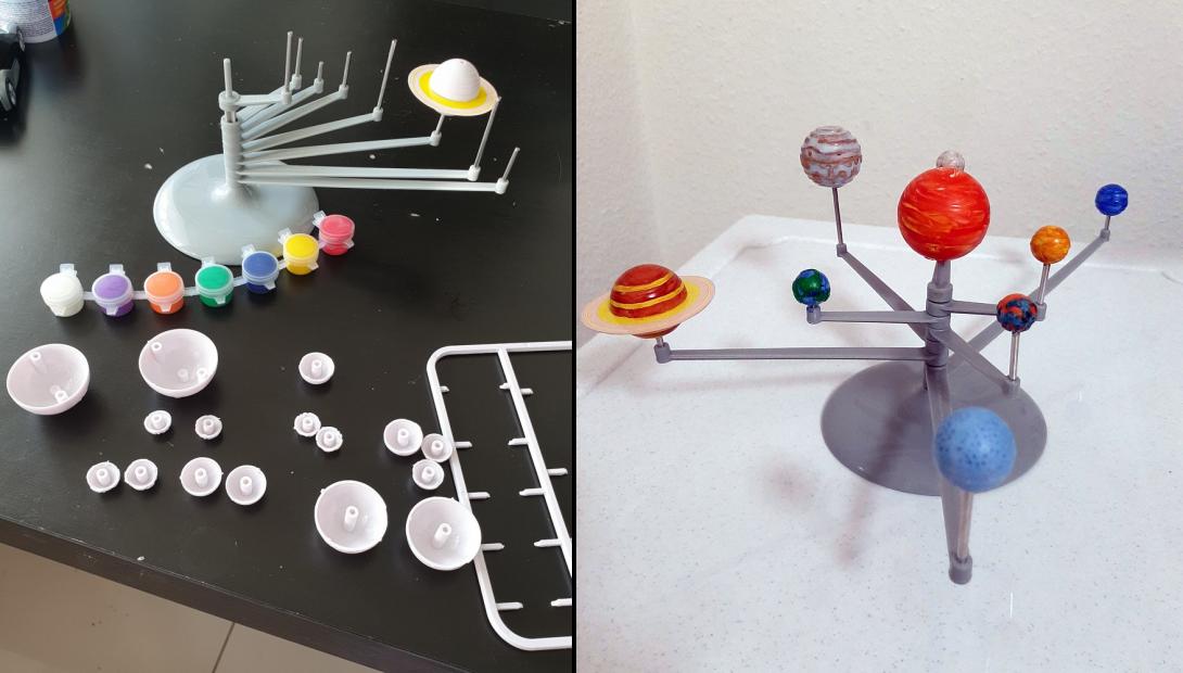 Что дарить детям: набор «Солнечная система. Планетарий»
