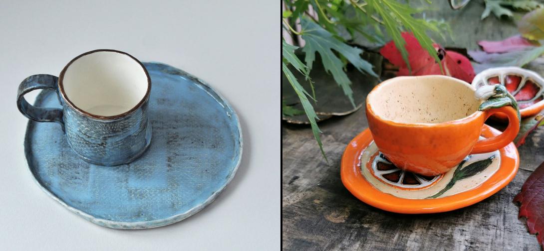 Необычная посуда: керамика ручной работы