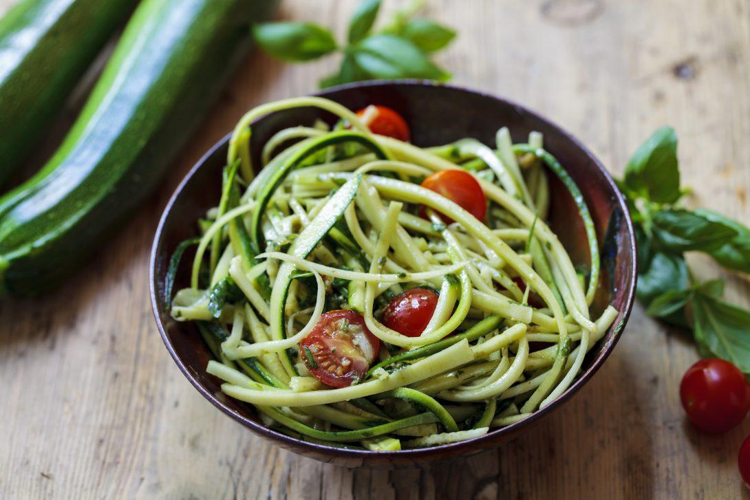 Вегетарианские рецепты: спагетти из цукини