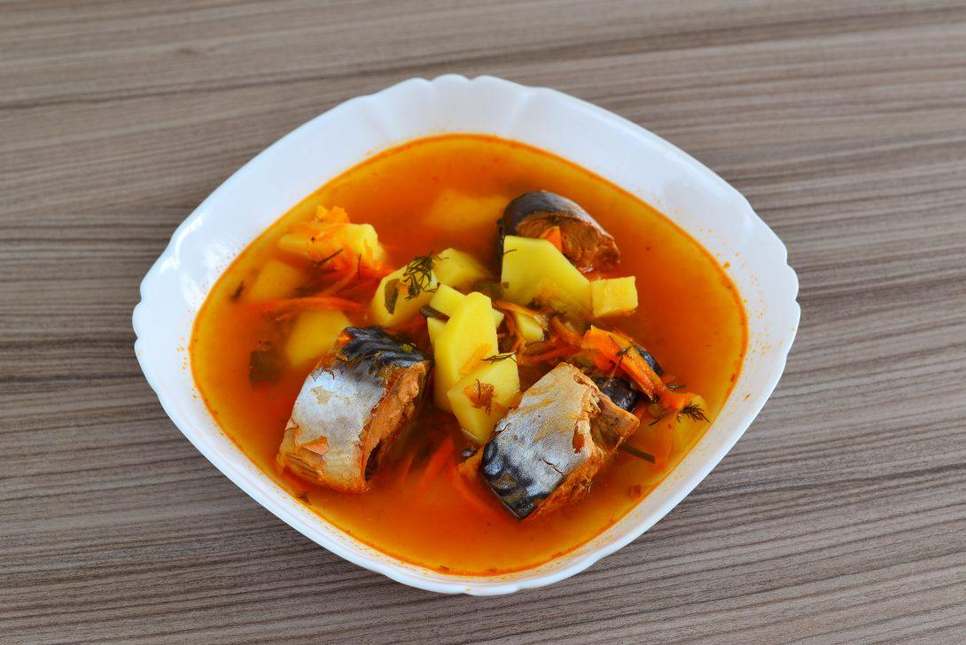 Рецепты русской кухни: донская уха с помидорами