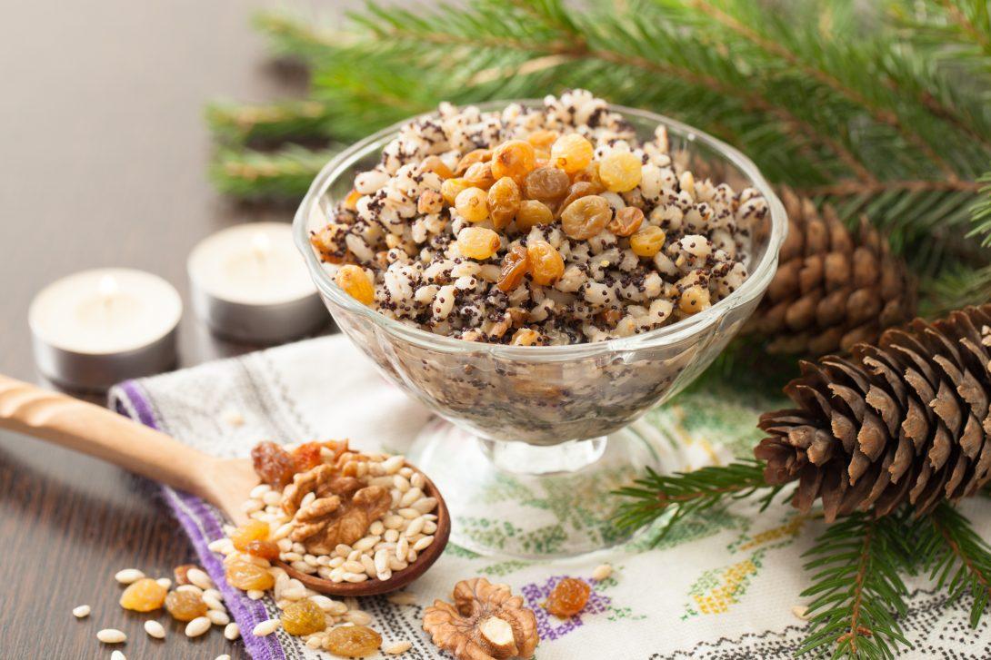 Рецепты русской кухни: рождественская кутья