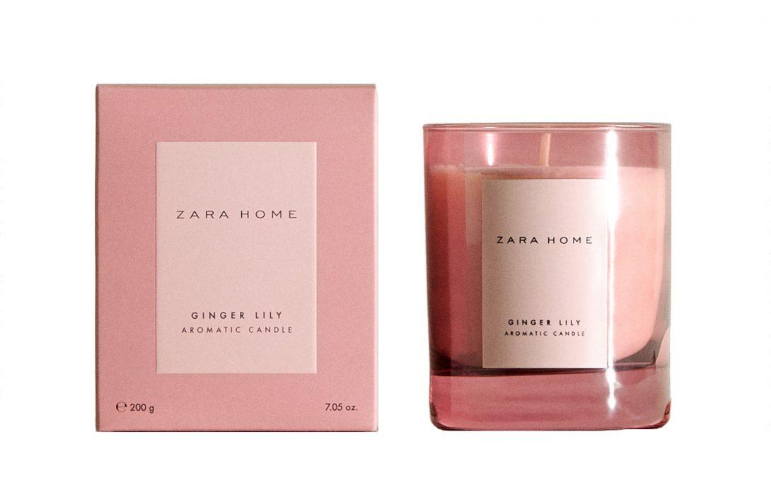 Ароматические свечи для дома: свеча «Имбирная лилия»