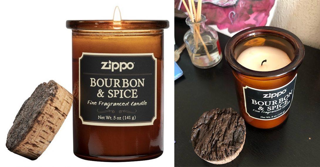 Ароматические свечи для дома: свеча «Бурбон и специи»