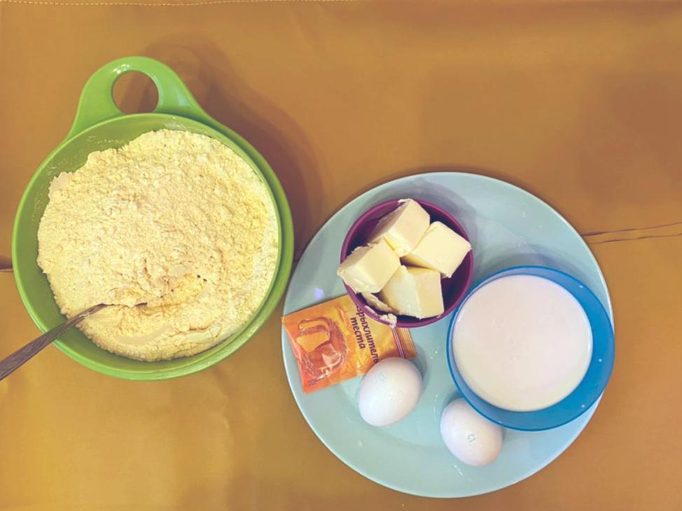 Ингредиенты для теста на Муравейник