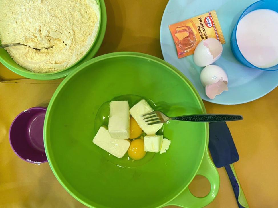 Сколько масла и яиц нужно для Муравейника