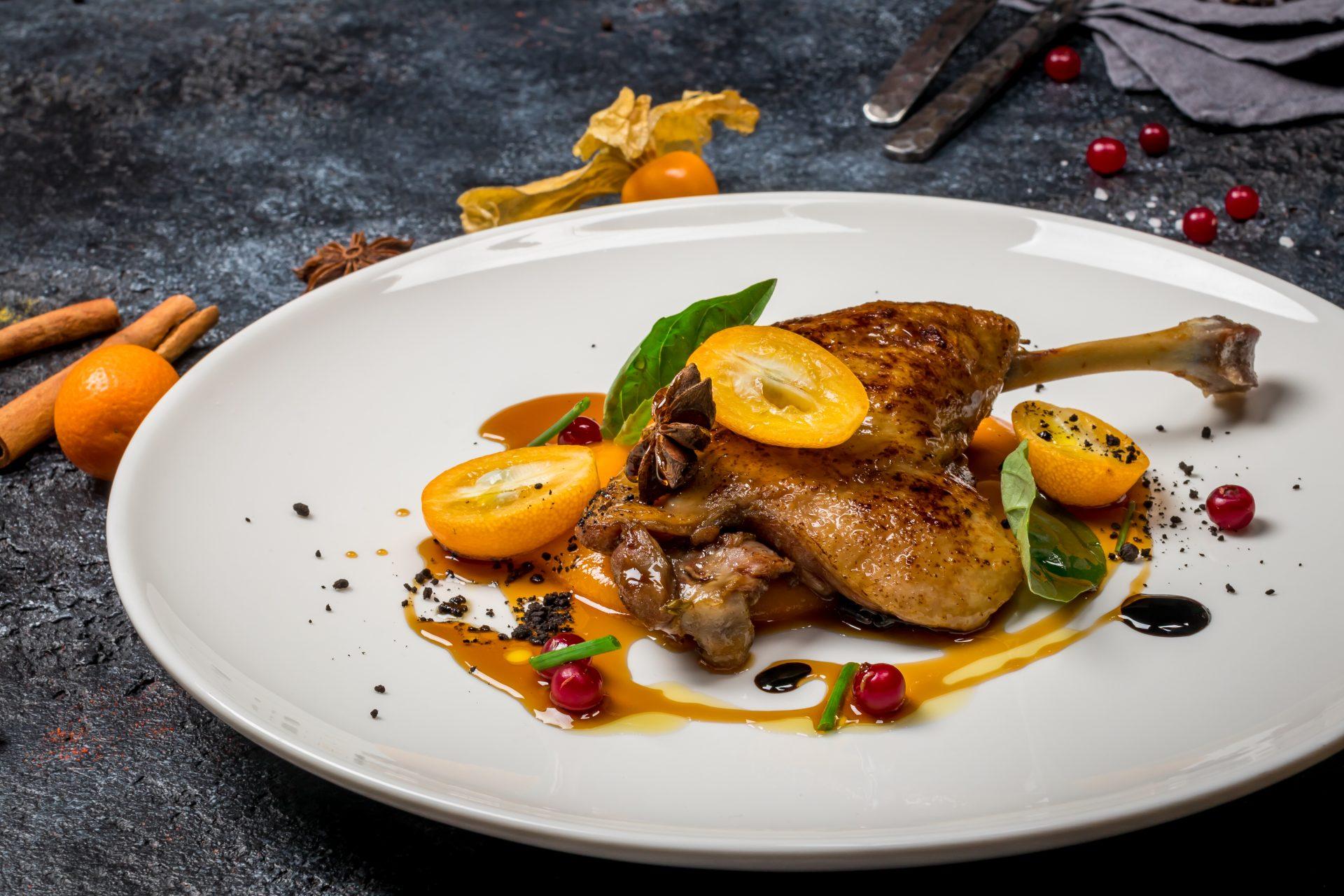 Способы приготовления блюд: конфи из утки. Этот способ приготовления чаще всего встречается во французской кухне