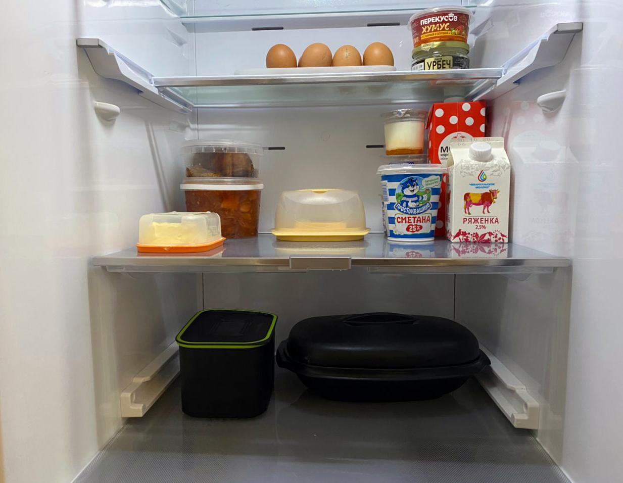 Визуально стало еды стало меньше, но это лишь иллюзия