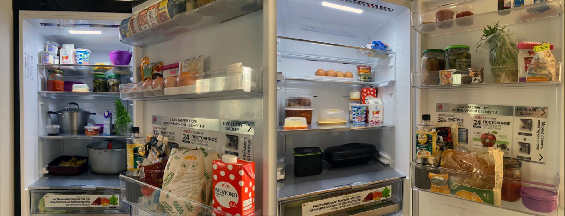 В холодильнике стало больше места, понятно, что нужно съесть, а что — докупить, всё ненужное выброшено или заморожено