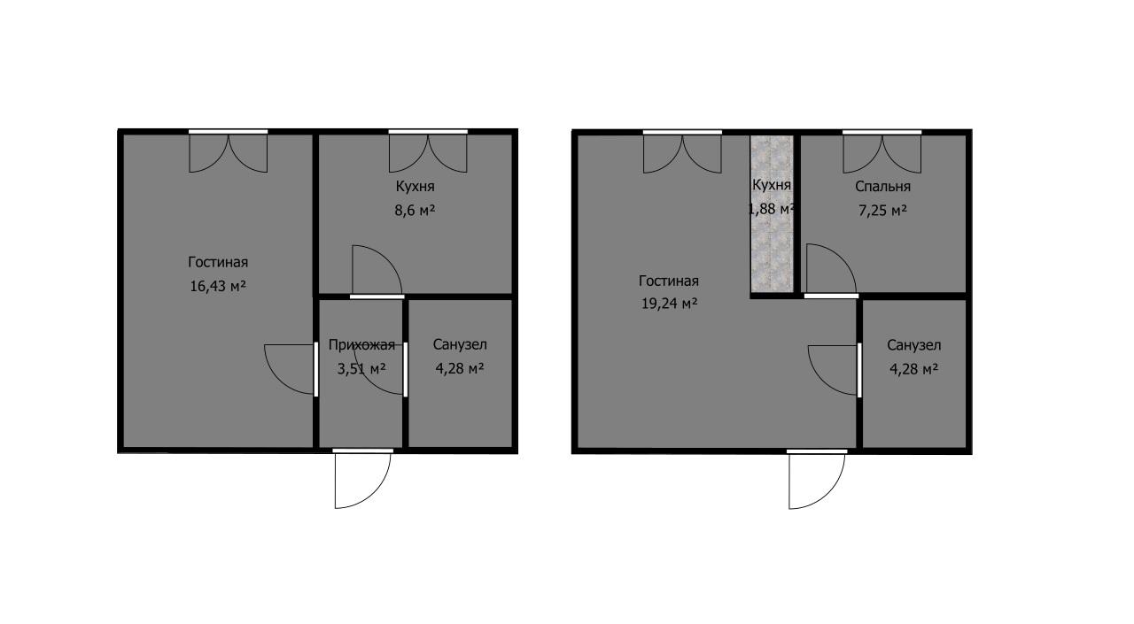 Как выбрать квартиру, если есть только план этажа