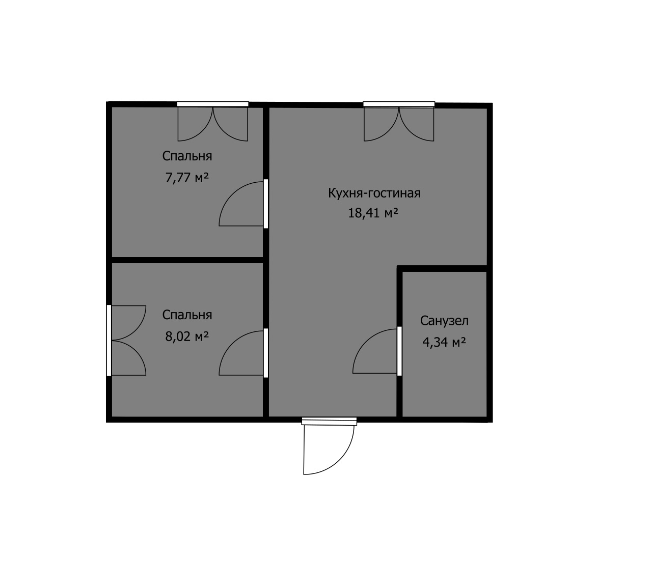 Как выбрать квартиру, если есть только планировка