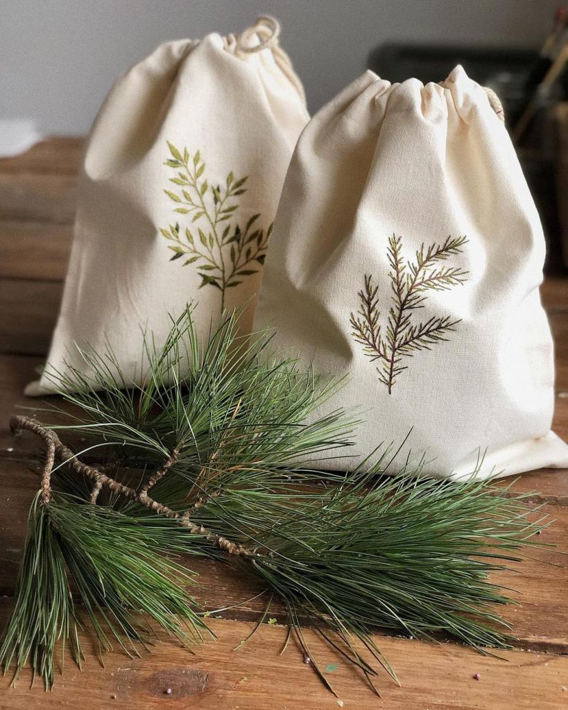 Новогодние мешочки в подарок